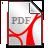 Icon PDF-Dokument für Anmeldeformular